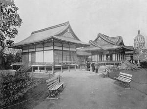 "Japan. Ho-o-den or ""Phoenix Palace"".  Designed by Masamichi Kuru."