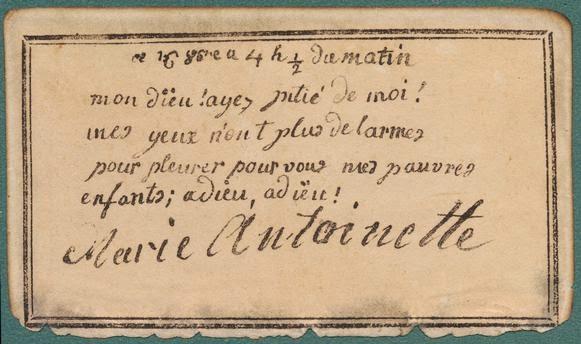 Marie Antoinette's Prayer Book
