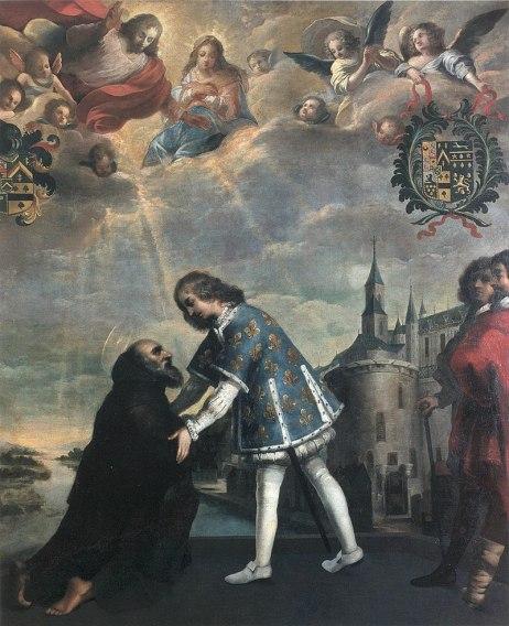 800px-Karl_VIII._empfaengt_Franz_von_Paola_in_Amboise