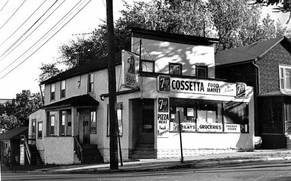 1952, Cossetta's Market