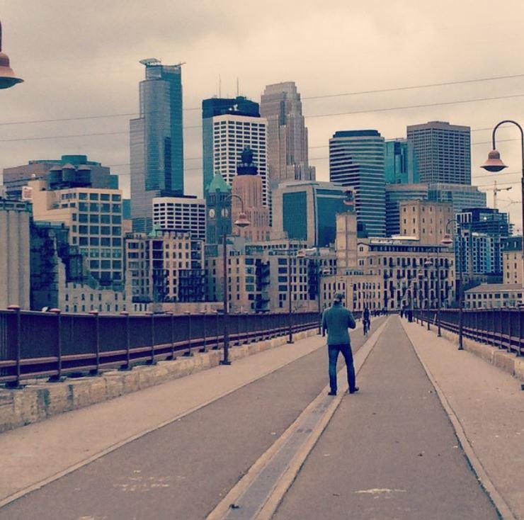 NE Minneapolis Cityscape